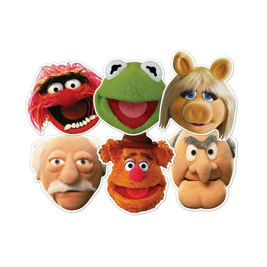 Maskertje met Muppetshow afbeeldingen