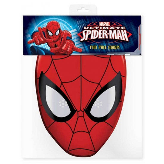 Maskertje met Spiderman afbeelding