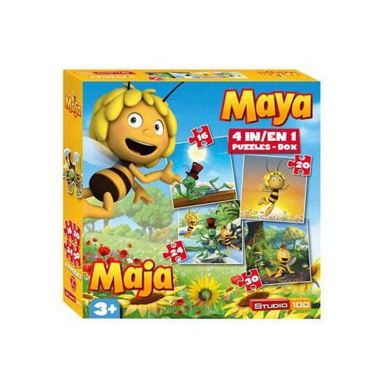 Maya de Bij kinderpuzzel 4 in 1