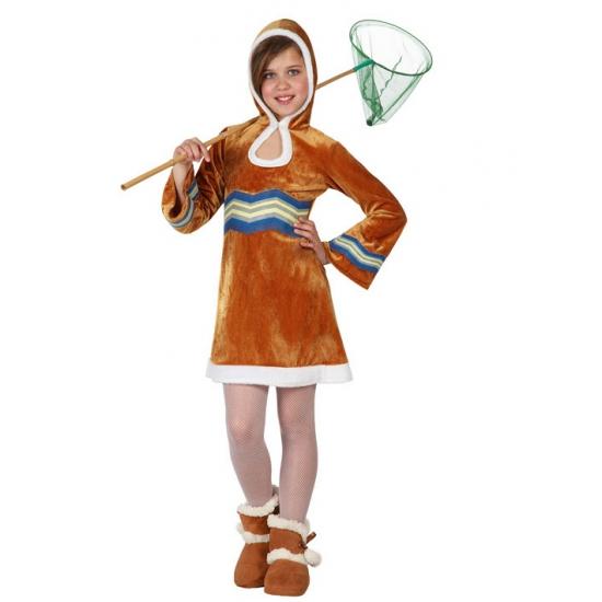 Meisjes kostuum eskimo