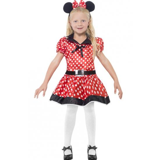 Meisjes Minnie Mouse kostuum