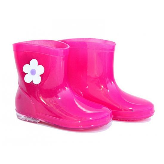 Meisjes regenlaarzen roze