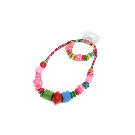 Meisjes sieraden gekleurde kralen