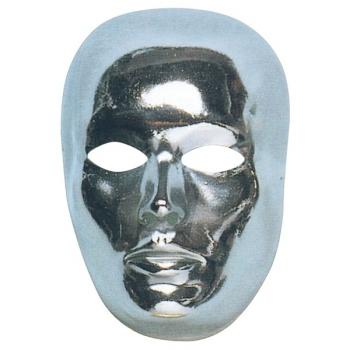 Mensen masker zilver
