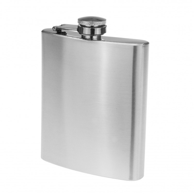 Metalen heupfles 200 ml
