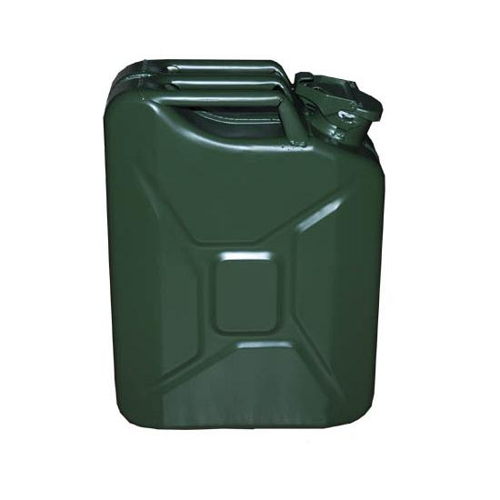 Metalen jerrycans 20 liter