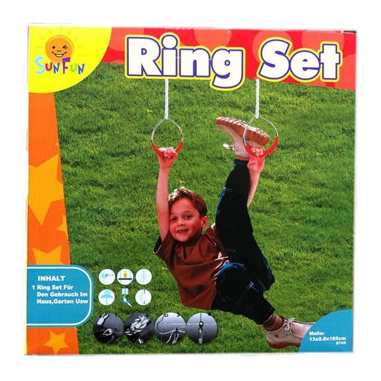 Metalen sportringen voor kinderen