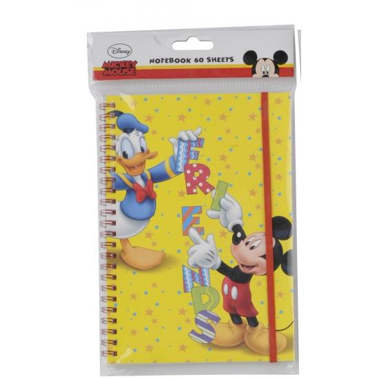 Mickey en Donald notitieboek A5