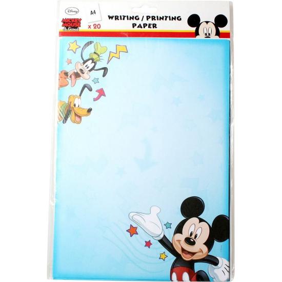 Mickey Mouse A4 schrijfpapier 20 vellen