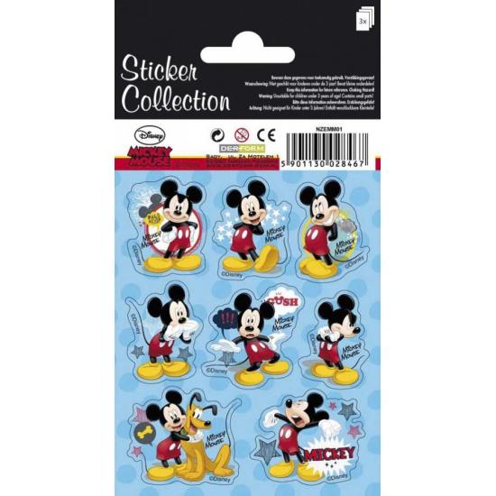 Mickey Mouse Disney stickervellen