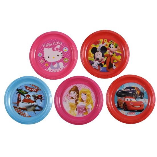 Mickey Mouse thema bordje 21 cm