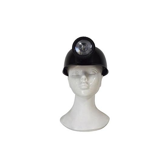 Mijnwerker helm plastic voor volwassenen