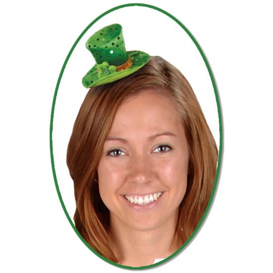 Mini hoge hoed St. Patricksday