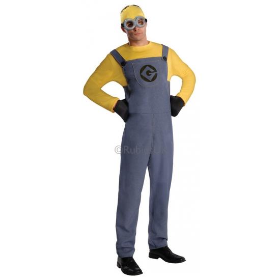 Minion kostuum voor heren geel
