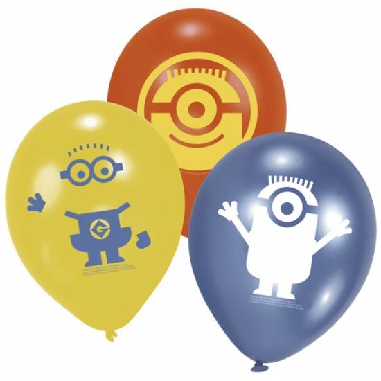 Minions ballonnen 6 stuks