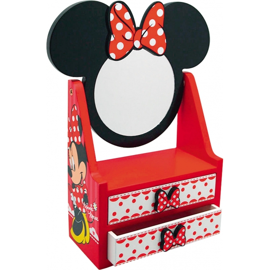 Minnie Mouse make up tafel