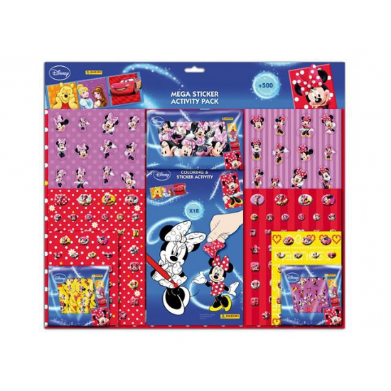 Minnie Mouse stickers voor kinderen