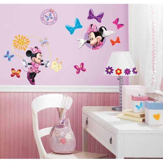Minnie Mouse stickers voor op de muur