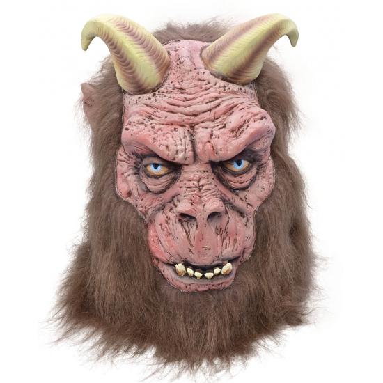 Monster masker met twee hoorns
