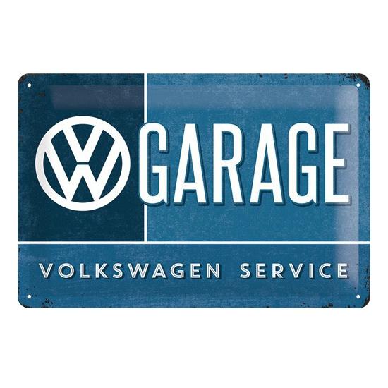 Muurplaatje Volkswagen 20 x 30 cm