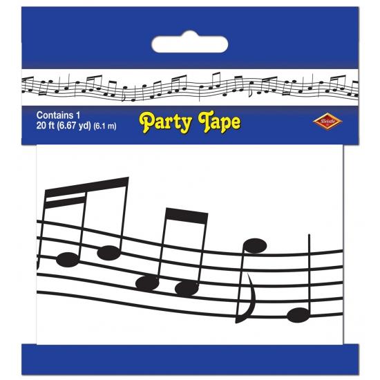 Muzieknoot markeerlinten