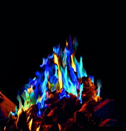 Mystical Fire gekleurd kampvuur
