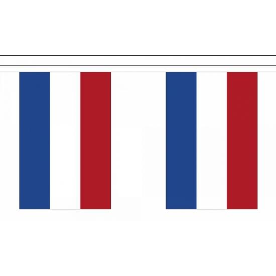 Nederland versiering vlaggelijn 9 meter
