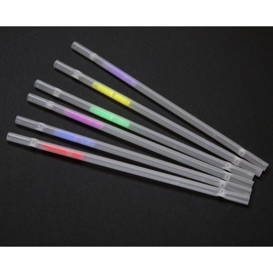 Neon glow in the dark rietjes 6 stuks