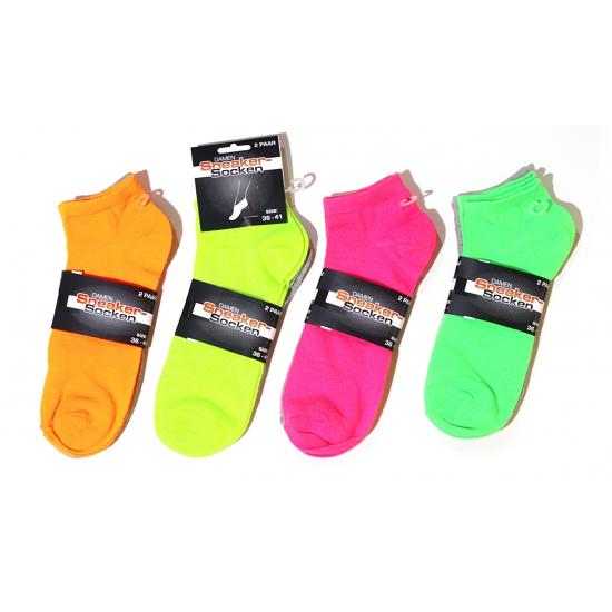 Neon groene sokken