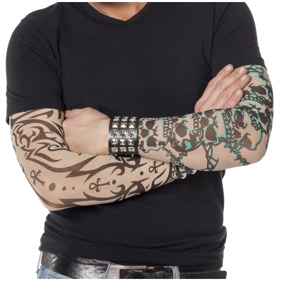 Nep tattoo mouwen gothic