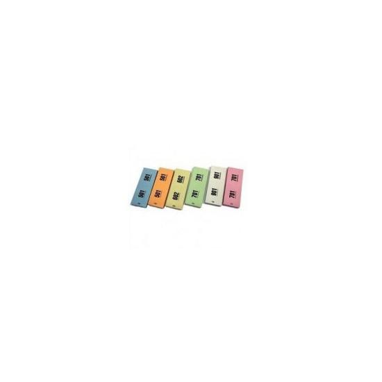 Nummerblokken roze 1 1000