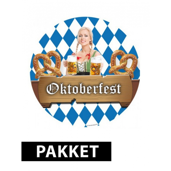 Oktoberfest feest pakket