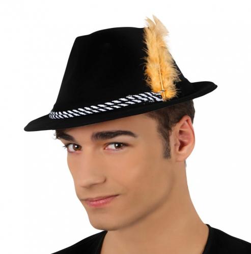Oktoberfest hoedjes met veer
