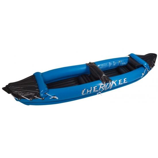 Opblaasbare kano Cherokee blauw