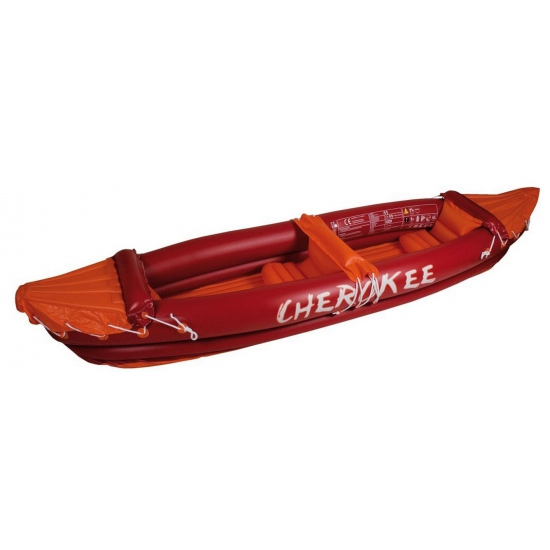 Opblaasbare rode kano deluxe