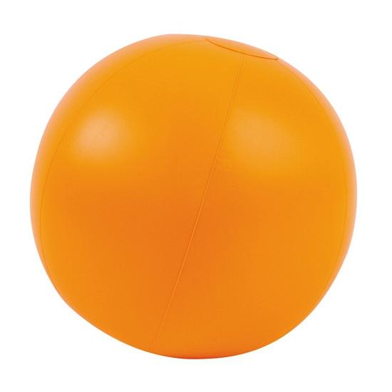 Opblaasbare strandballen oranje