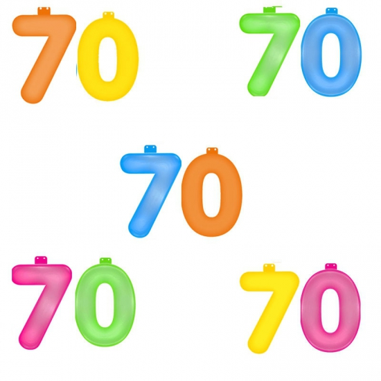 Opblaascijfers 70 jaar