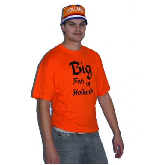 Oranje big fan t shirt