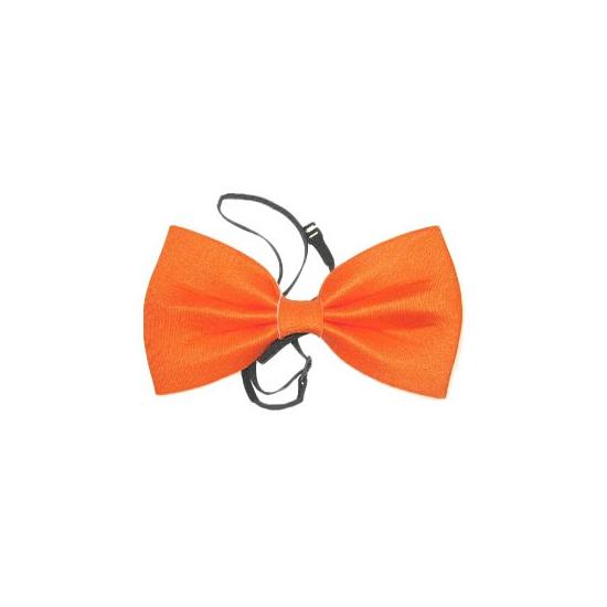 Oranje feest strik
