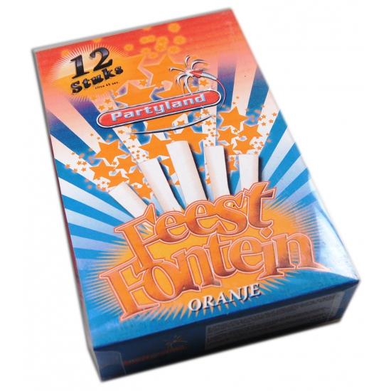 Oranje ijsfontein 45 seconden