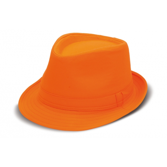 Oranje King of Pop hoedje