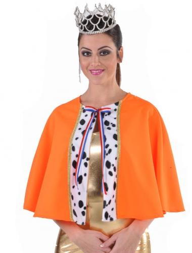 Oranje queen cape deluxe