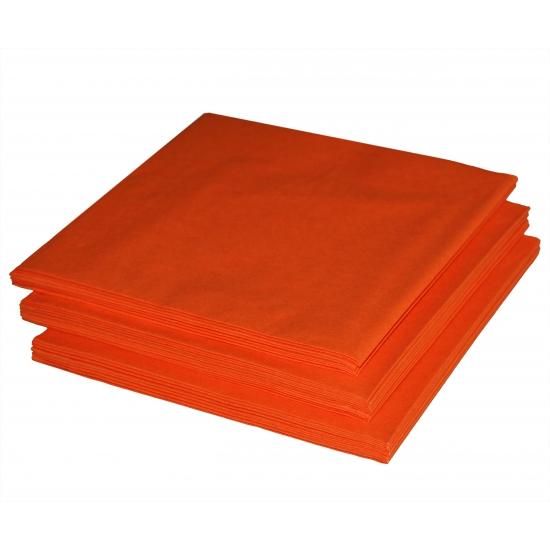 Oranje servetjes 20 stuks
