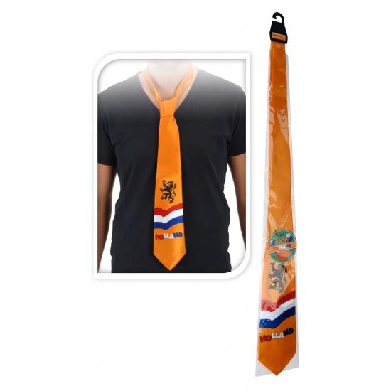 Oranje stropdas Holland thema