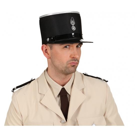 Ouderwetse politie pet Frans