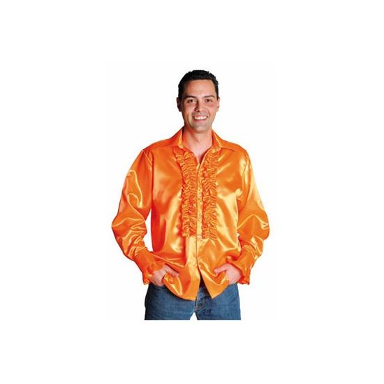Overhemd voor heren met rouches