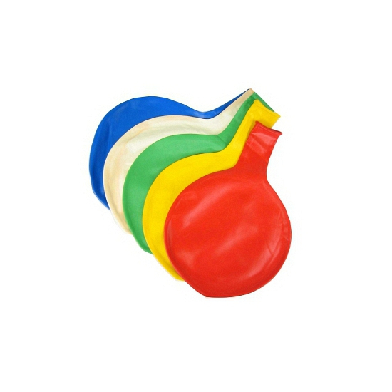 Paarse mega ballon 65 cm