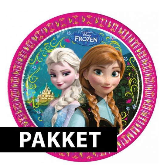 Pakket voor Frozen feestje