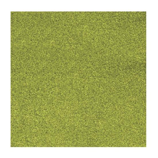 Papier glitter grasgroen vel