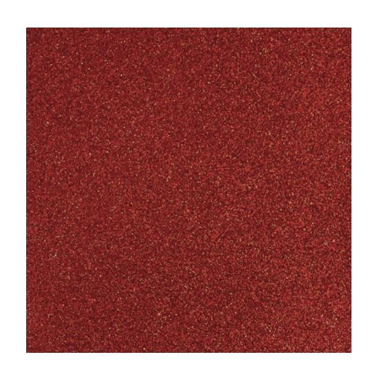 Papier glitter rood vel